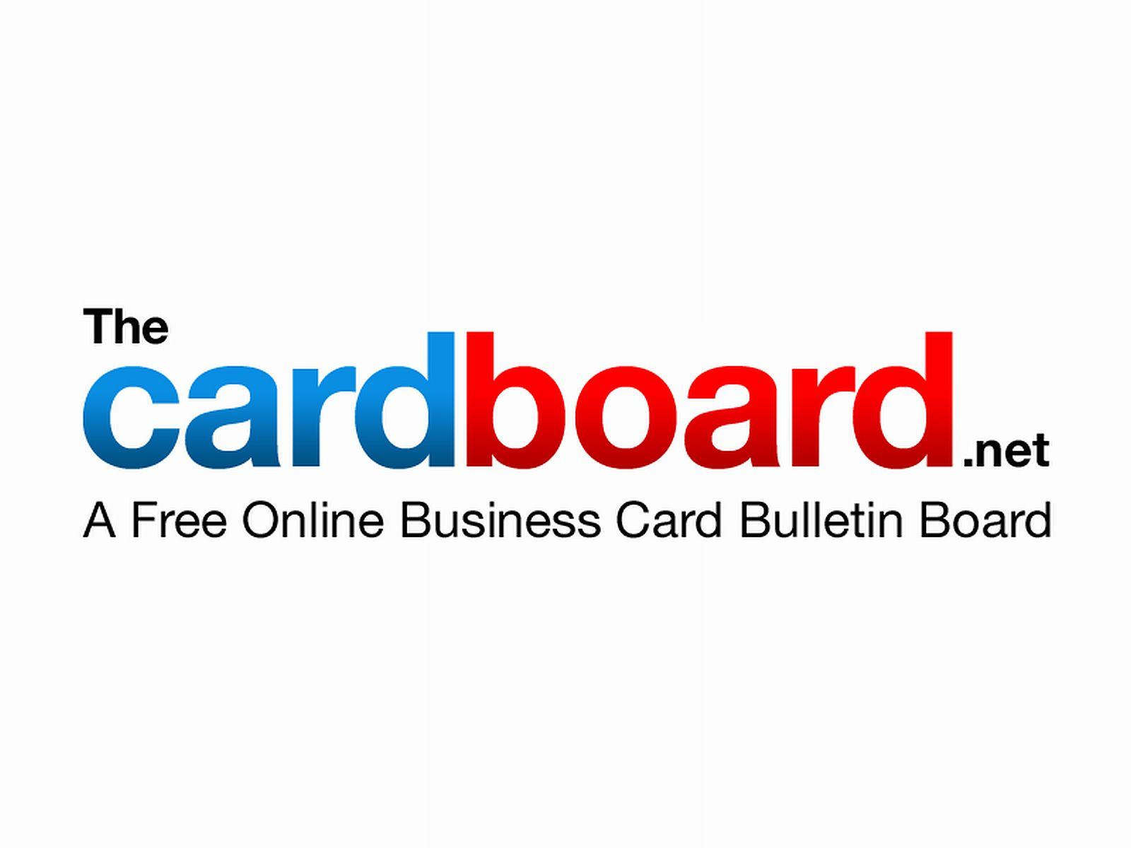 card board logo