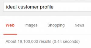 Ideal Customer Profile Search