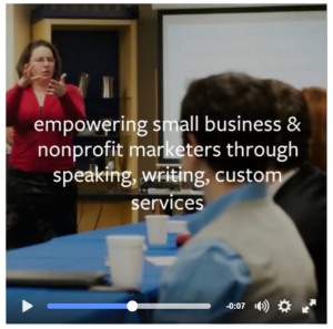 Laura's Facebook My Business Video