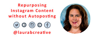 Repurposing Instagram Content without Autoposting