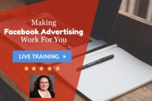 Webinar: Making Facebook Advertising Work for You @ online