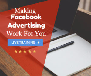 Webinar: Making Facebook Advertising Work for You @ online