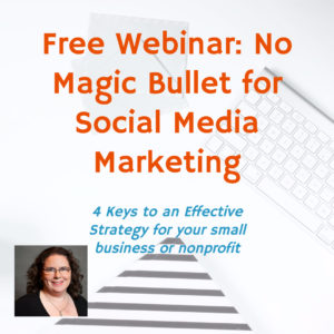 Webinar: No Magic Bullet for Social Media Marketing @ online