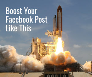 How to Boost Facebook Posts