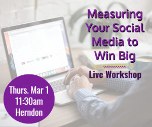 Measuring Your Social Media to Win Big @ Pinot's Palette - Dulles | Herndon | Virginia | United States