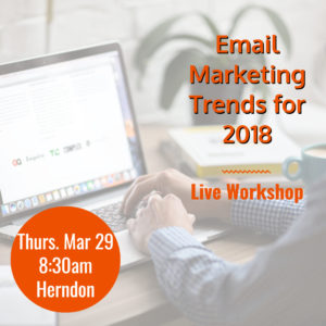 Email Marketing Trends for 2018 @ Pinot's Palette - Dulles | Herndon | Virginia | United States