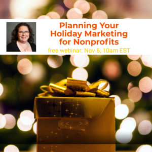 Webinar: Planning Your Holiday Marketing for Nonprofits @ online | McLean | Virginia | United States