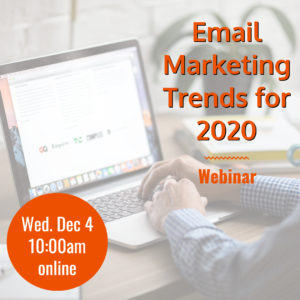 Webinar: Email Marketing Trends for 2020 @ online | Herndon | Virginia | United States