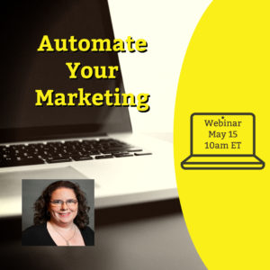 Webinar: Automate Your Marketing @ online