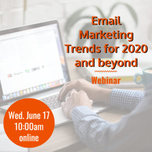 Webinar: Email Marketing Trends for 2020 and beyond @ online | Herndon | Virginia | United States