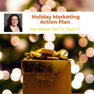 Webinar: Holiday Marketing Action Plan @ online | Herndon | Virginia | United States