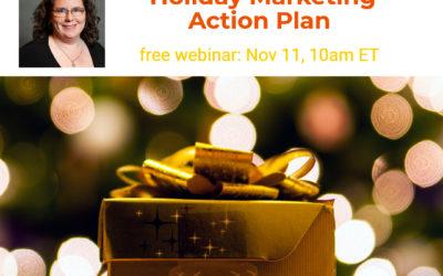 Webinar: Holiday Marketing Action Plan