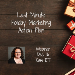 Webinar: Last Minute Holiday Marketing Action Plan @ online | Herndon | Virginia | United States