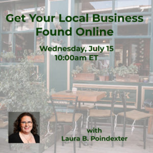 Webinar: Get Your Local Business Found Online @ online | McLean | Virginia | United States