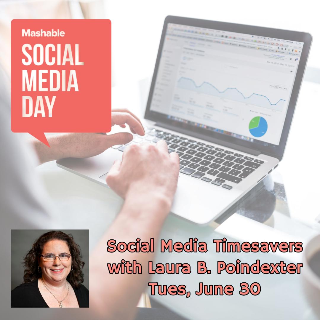 Webinar: Social Media Timesavers for Social Media Day