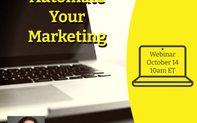 Webinar: Automate Your Marketing