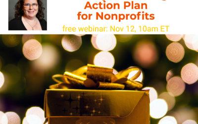 Webinar: Holiday Marketing Action Plan for Nonprofits