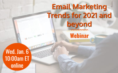 Webinar: Email Marketing Trends for 2021 and beyond