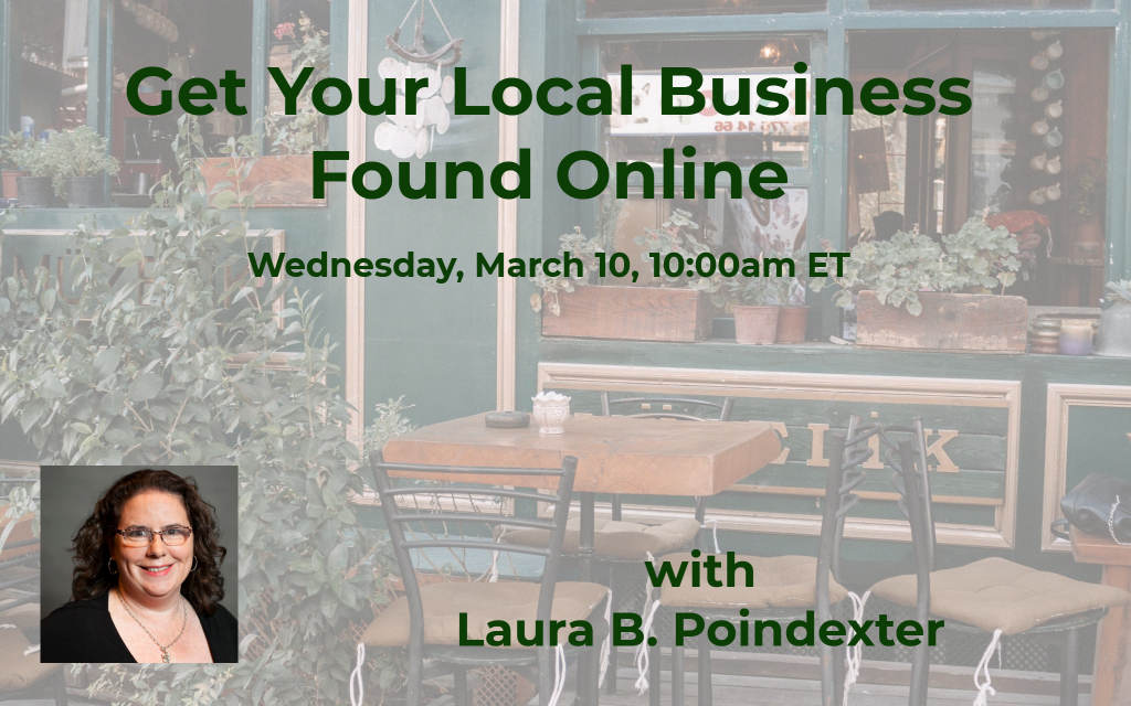 Local Business Webinar
