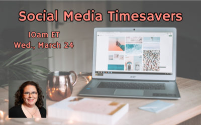 Webinar: Social Media Timesavers