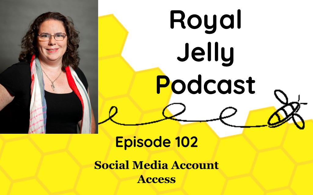 Social Media Account Access podcast episode cover image