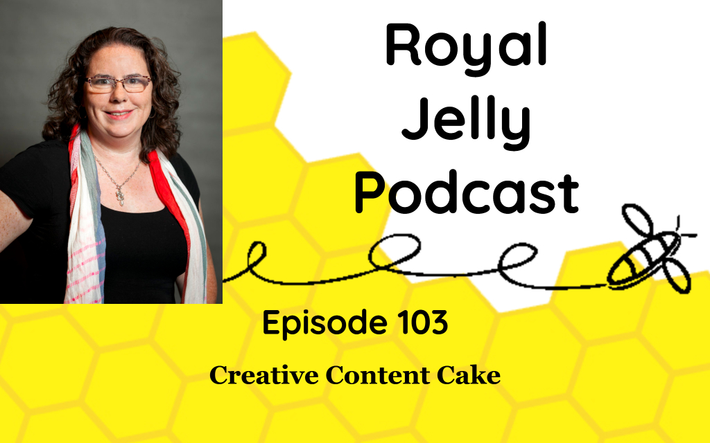 Creative Content Cake podcast episode cover image